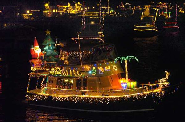 Floating Christmas Parade