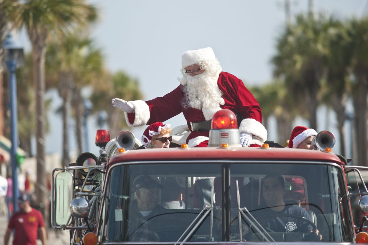 Tybee Island Santa Party