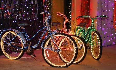 Tybee Island Tour de Christmas Lights Bike Parade